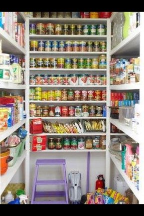 Open Shelving In The Kitchen Diy Extra Storage