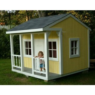Miraculous Kids Wood Playhouse Ideas On Foter Interior Design Ideas Clesiryabchikinfo