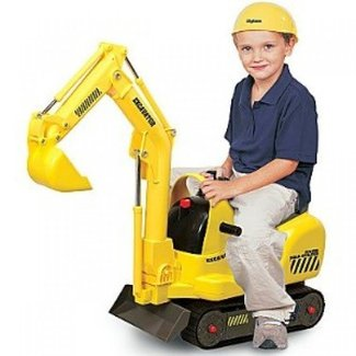 Kids ride on construction toys