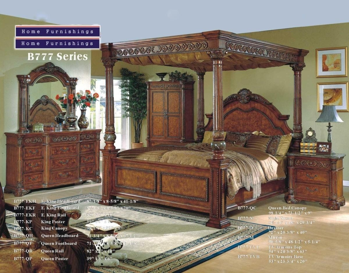 King size canopy bedroom sets  sc 1 st  Foter & Four Post King Size Bedroom Sets - Ideas on Foter