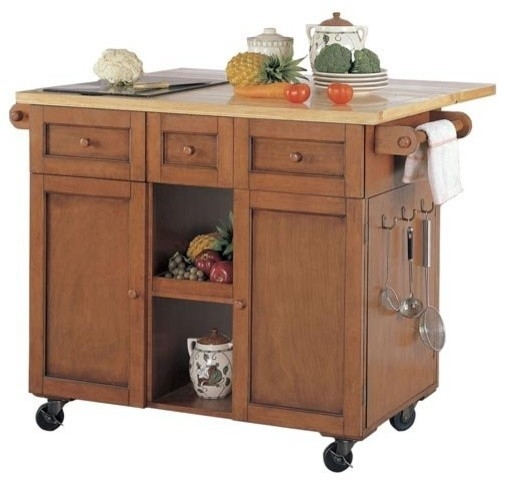 Charmant Kitchen Cart With Cutting Board 3
