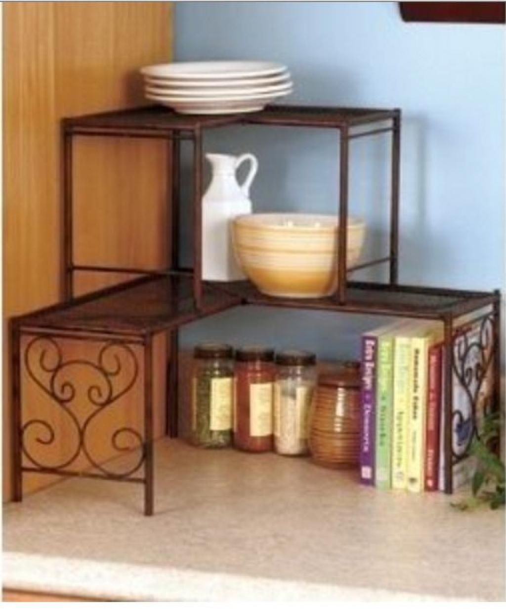 Charmant Kitchen Counter Shelf   Ideas On Foter