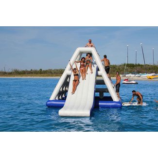 Inflatable Lake Slide - Ideas on Foter