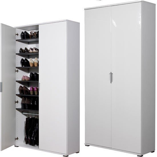 Superbe Large Shoe Cabinet 1
