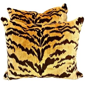 Leopard throw pillows 7