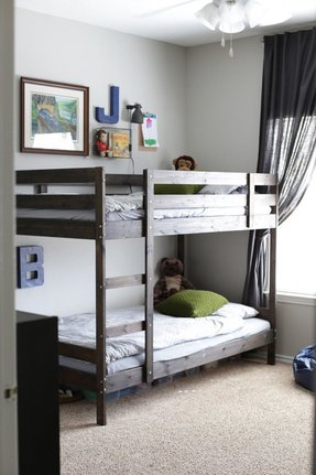 Low bunk beds for kids foter for Low to ground beds