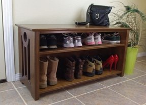 Mac shoe boot storage bench contemporary benches san diego