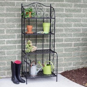 Wrought Iron Bakers Rack Outdoor Foter