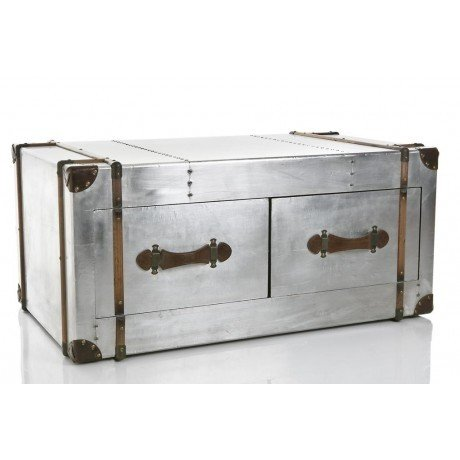 Metal Trunk Coffee Table 2