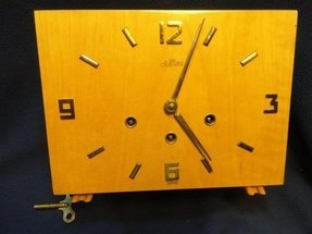 Contemporary Mantel Clock Foter