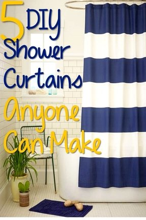 Nautical shower curtains 1