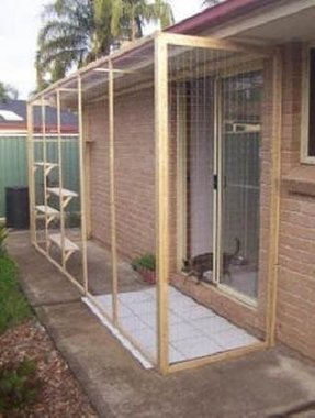 Outdoor cat playpen 1