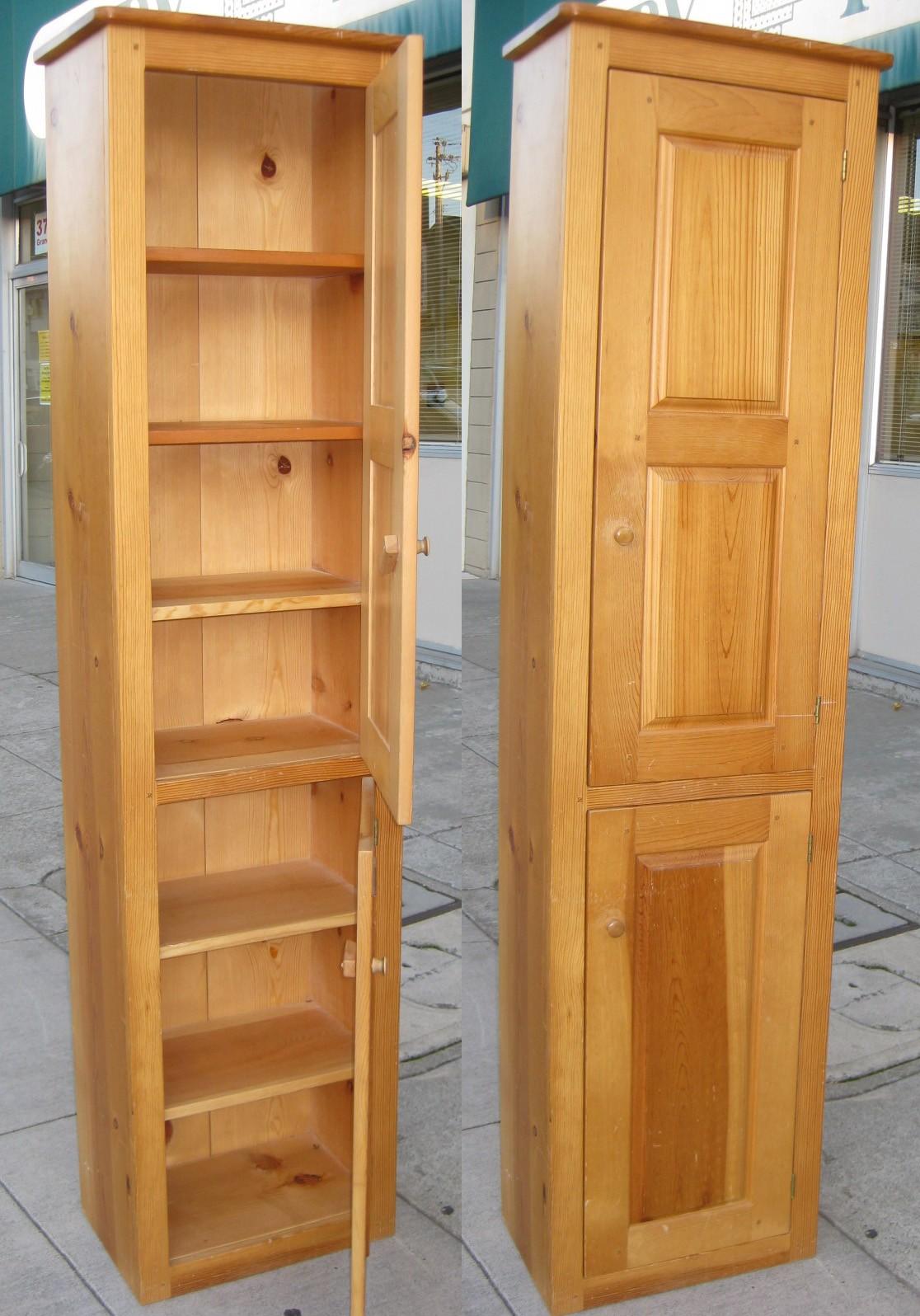 Charmant Pine Cabinets 3