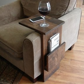 Recliner laptop table 1