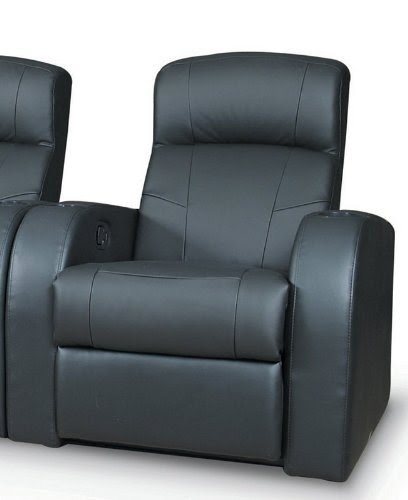 Recliner With Cup Holder And Tray