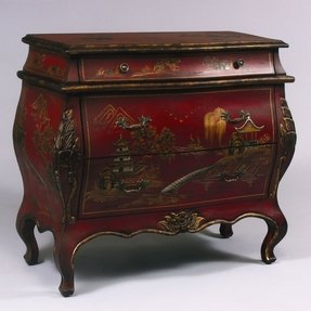 Red bombay chest 2