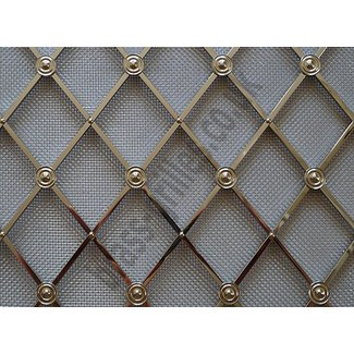 Regency brass decorative grilles traditional kitchen cabinets 1