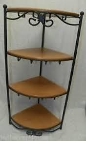 Rod iron corner shelf & Wrought Iron Corner Shelf - Foter