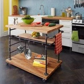 Rolling Butcher Block Cart - Ideas on Foter