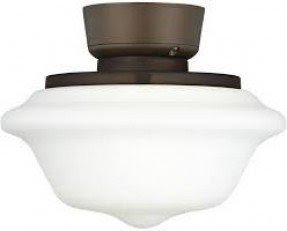 Schoolhouse ceiling fan light kit foter schoolhouse ceiling fan light kit 3 mozeypictures Images