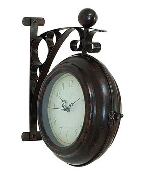 Side mounted station clock 1