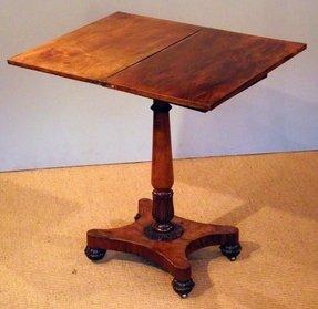 antique pedestal tables foter. Black Bedroom Furniture Sets. Home Design Ideas