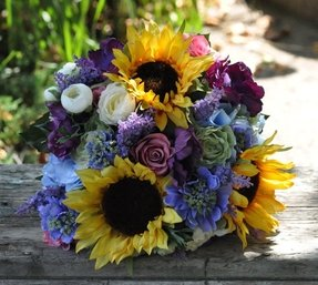 Sunflower flower arrangements