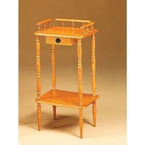 Tall telephone table stand