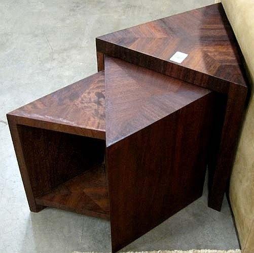 Beau Triangular Corner Table
