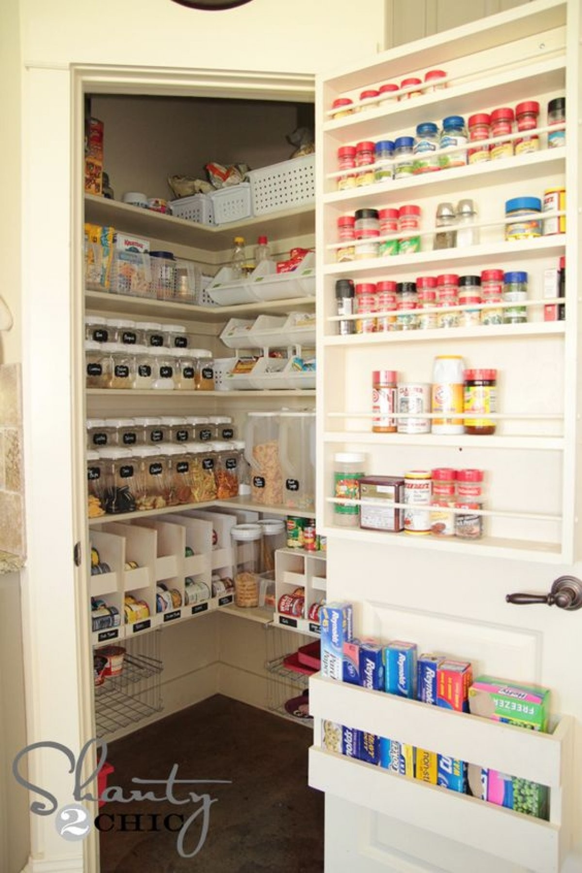 Turning A Closet Into A Pantry
