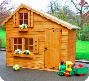 Wooden playhouses for sale 2