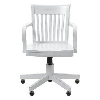 Lovely White Wooden Office Chair. Wooden Swivel Desk Chairs White Office Chair Y