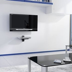 Groovy Floating Shelf For Tv Components Ideas On Foter Best Image Libraries Sapebelowcountryjoecom