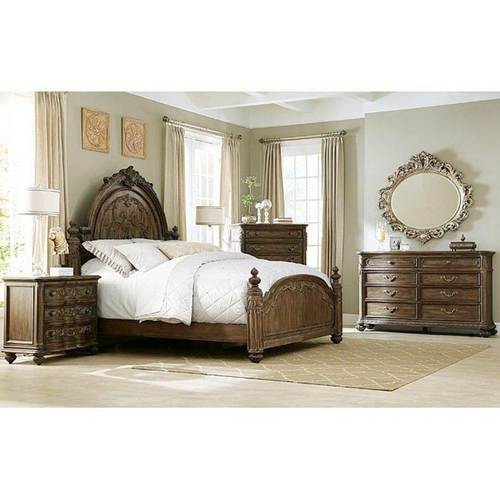 American Drew Jessica McClintock The Boutique 5 Piece Mansion Bedroom Set