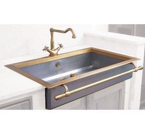 Antique brass sink foter antique brass sink workwithnaturefo