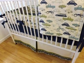 Baby Bedding Made To Order 4 Pc Boy Crib