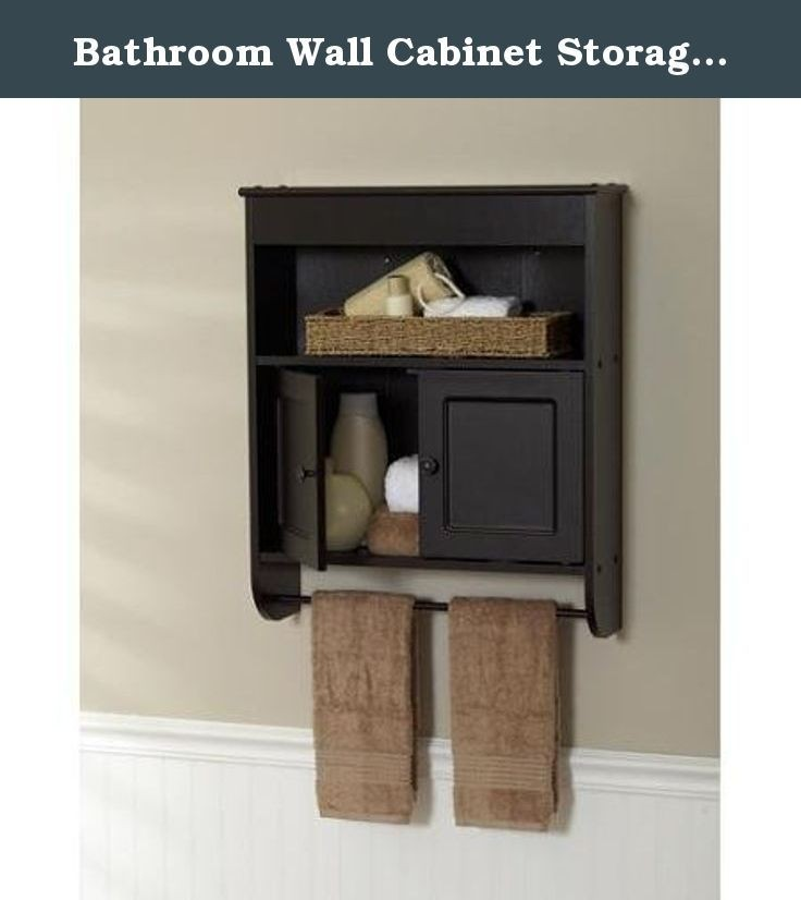 Bathroom Wall Cabinet Storage Shelf Space Saver Organizer Shelves Towel Rack  sc 1 st  Foter & Bathroom Wall Shelves And Storage - Foter