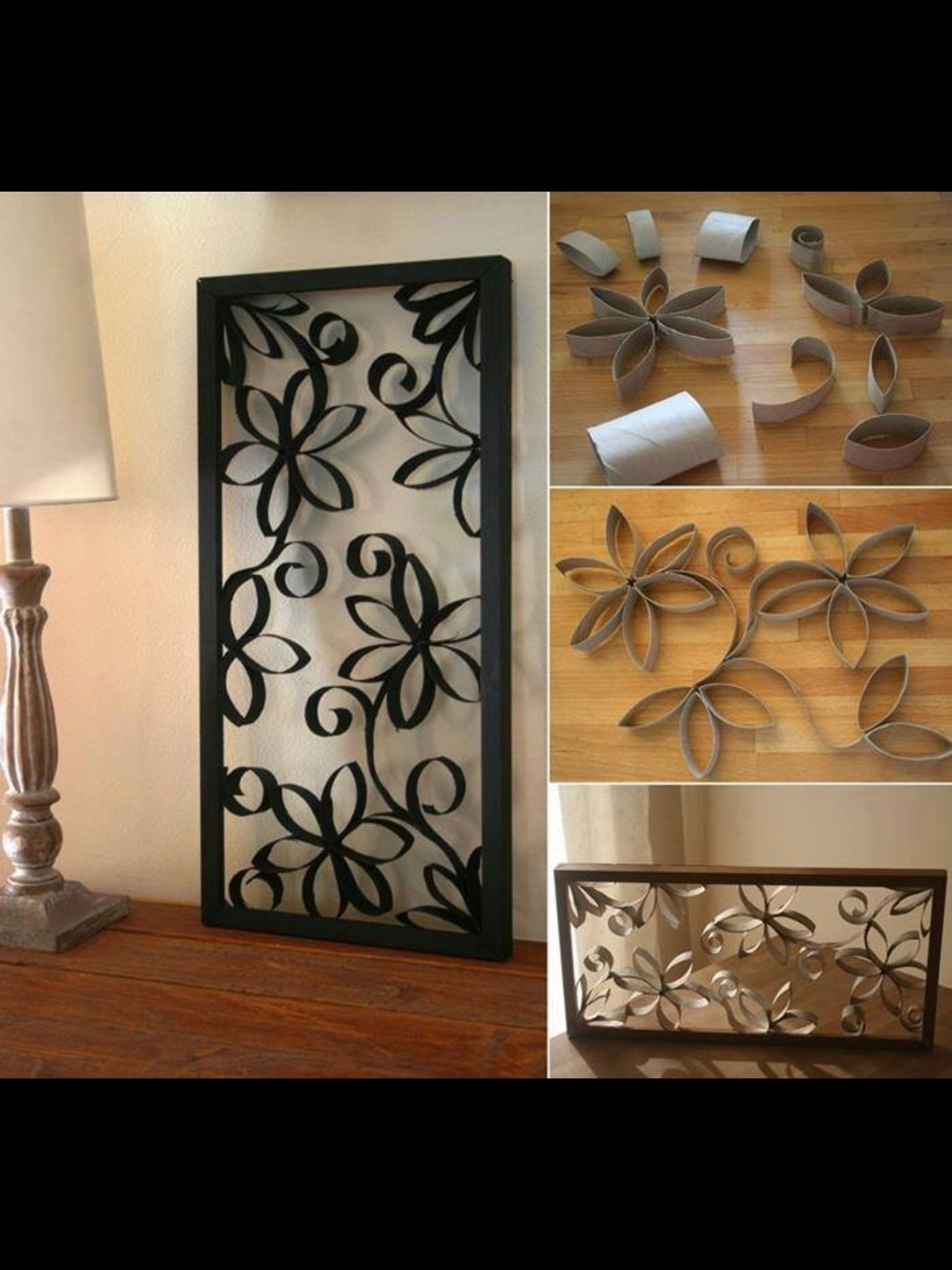 Black Iron Wall Decor 5