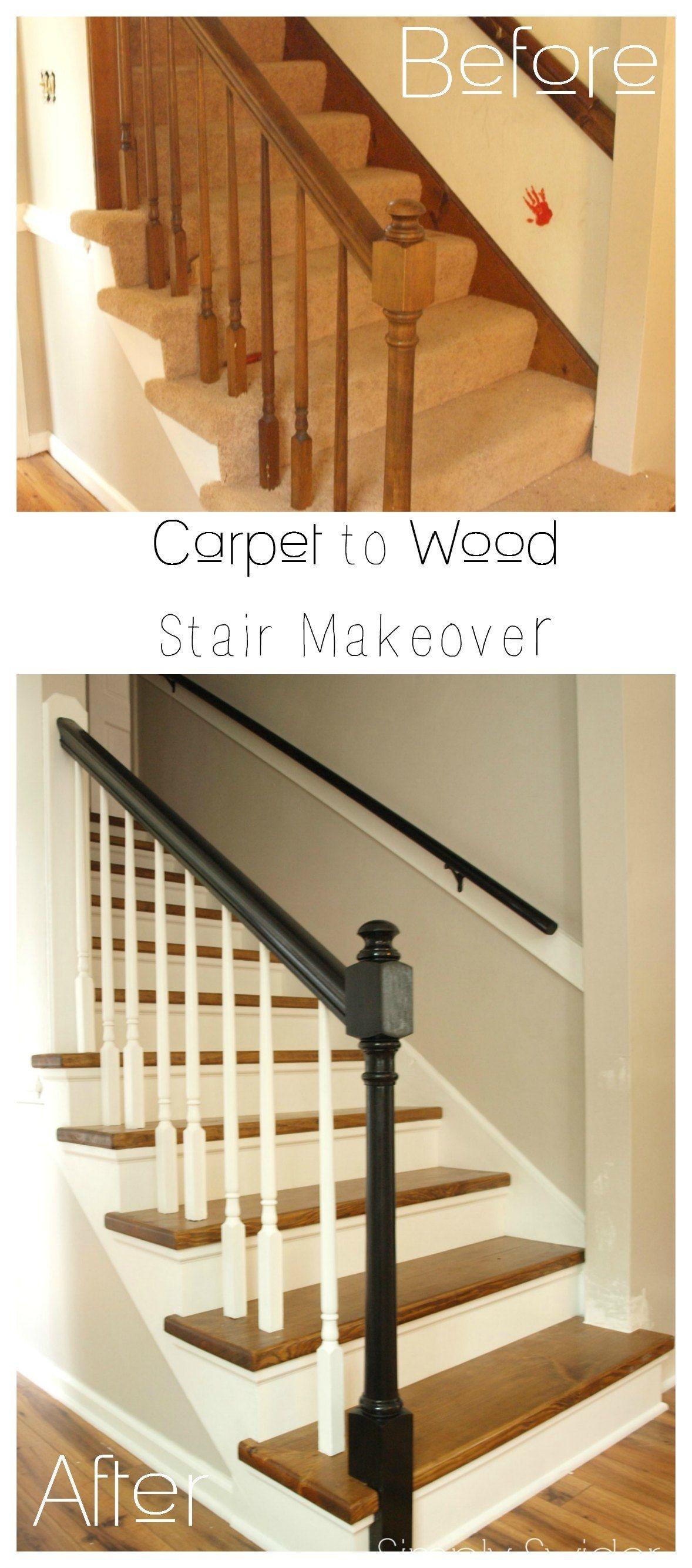 Carpet To Hardwood Stairs