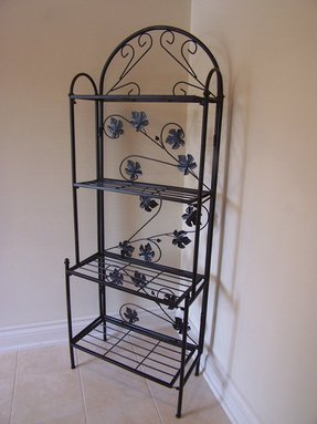 Cast iron bakers rack 2