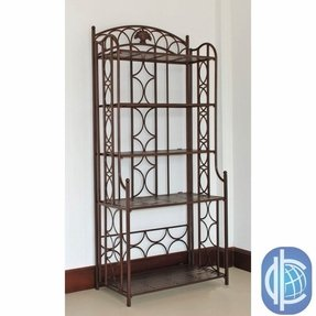 Cast iron bakers rack 4