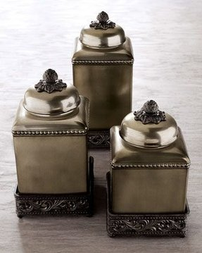 Ceramic canisters sets for the kitchen 2