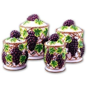 Ceramic canisters sets for the kitchen 4