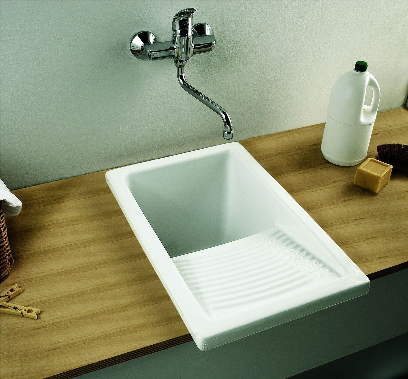 Ceramic Laundry Sink 1