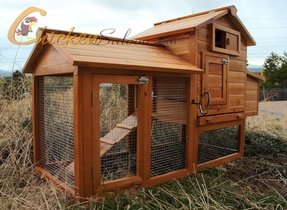 Chicken coop free shipping 7