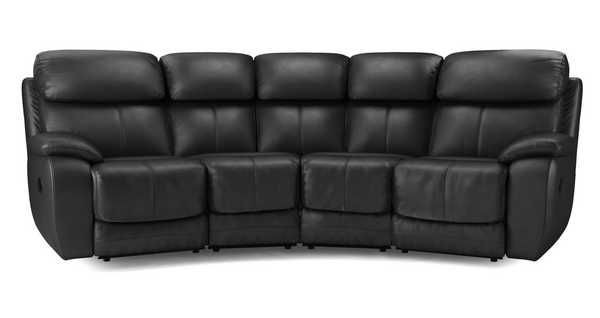Superbe Curved Reclining Sofa 4