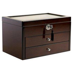 Dark Wood Jewelry Box Foter