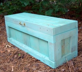 Dark wood toy box 4