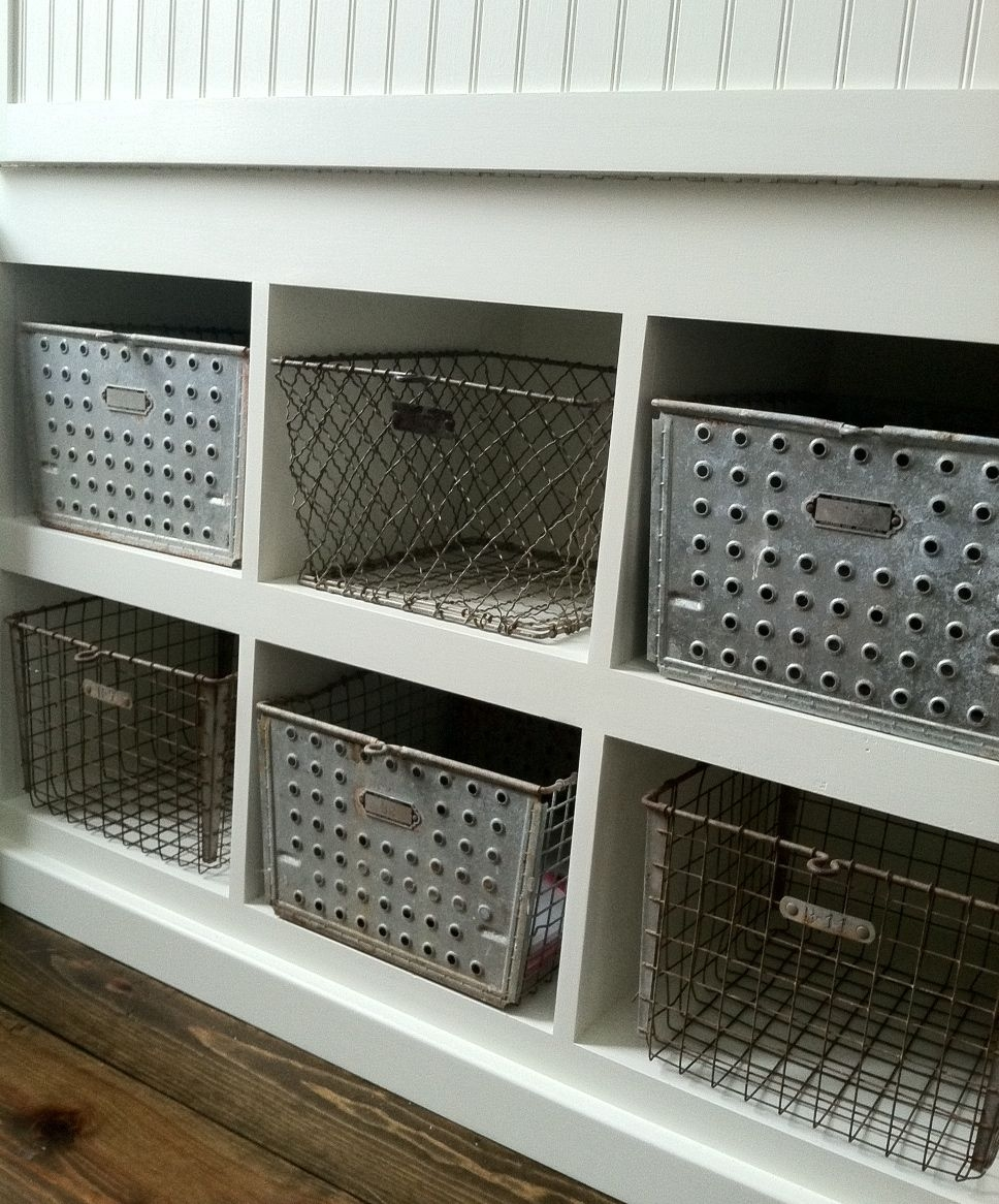 Decorative Metal Storage Bins 20