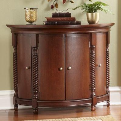 Merveilleux Demilune Cabinets